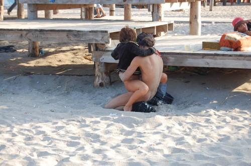 du bon sexe à la plage