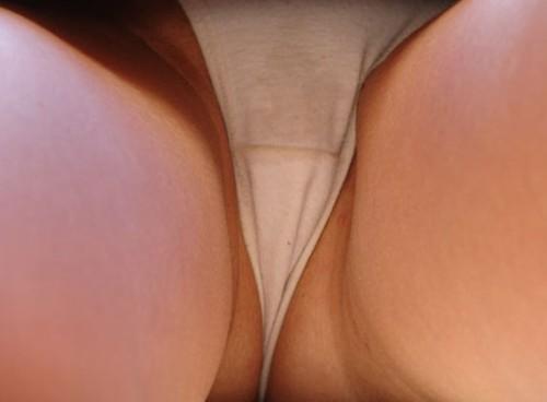 un string sexe en gros plan
