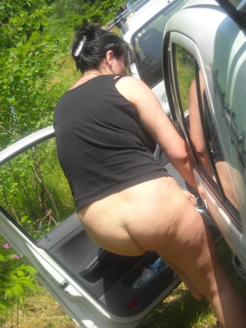 Photo voyeur de grosses fesses