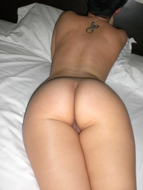 une photo voyeur d'un beau cul