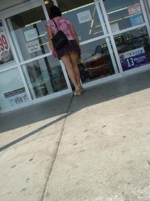 elle est sans culotte