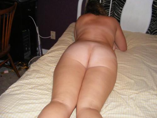 le gros cul d'une femme ronde