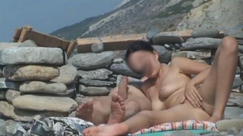 se masturbe à la plage