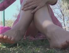 femme en jupe