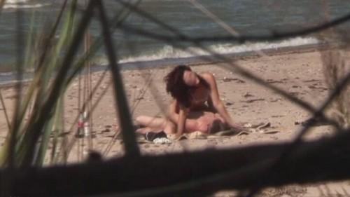 baiser sur la plage
