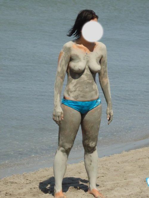 Les seins d'une inconnue